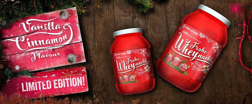 Extreme Whey Deluxe Weihnachtsedition