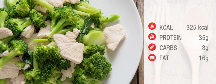 Hühnerfrikassee mit Broccoli Rezept