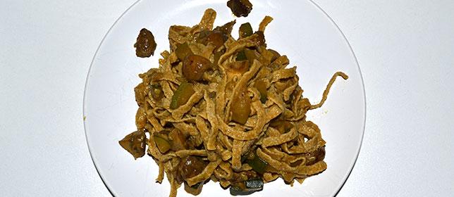 Zucchini Pilz Pilaw