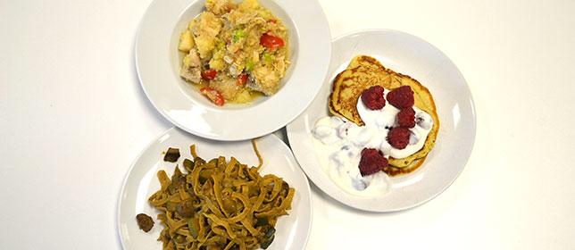 Gesunde Gerichte
