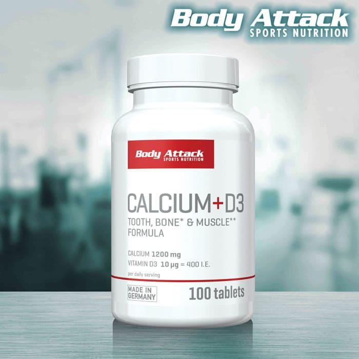 Body Attack Calcium + D3