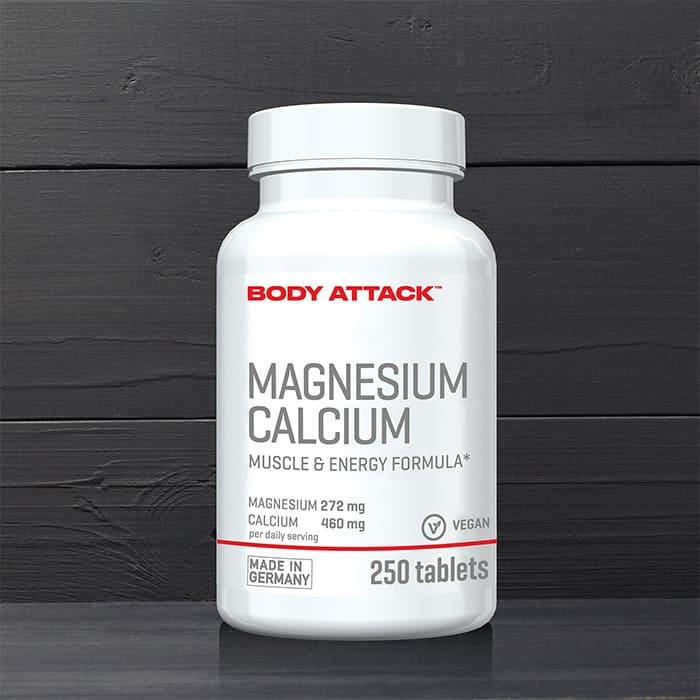 Body Attack Magnesium Calcium