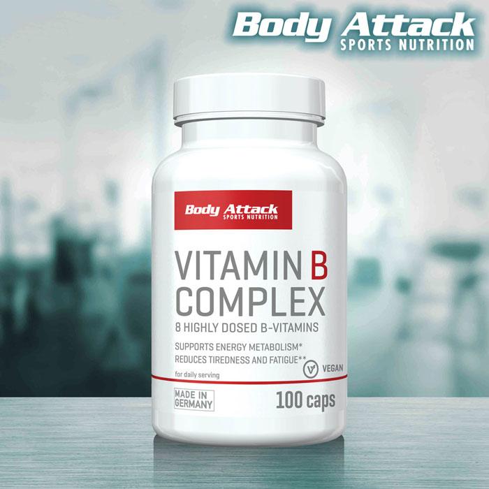 Body Attack Vitamin B-Complex