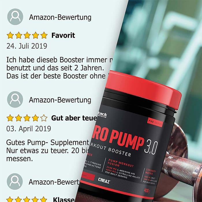 Nitro Pump 3.0 Bewertungen