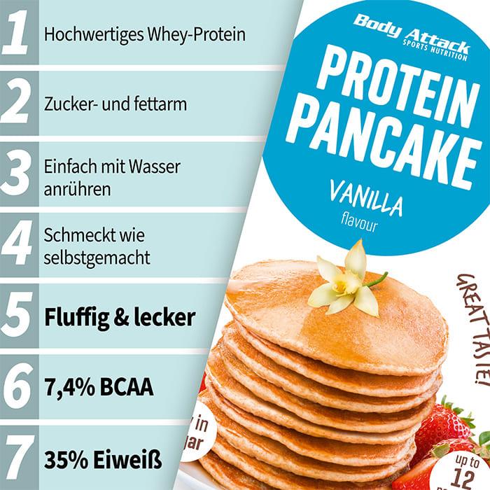 Body Attack Protein Pancake Netzbewertungen