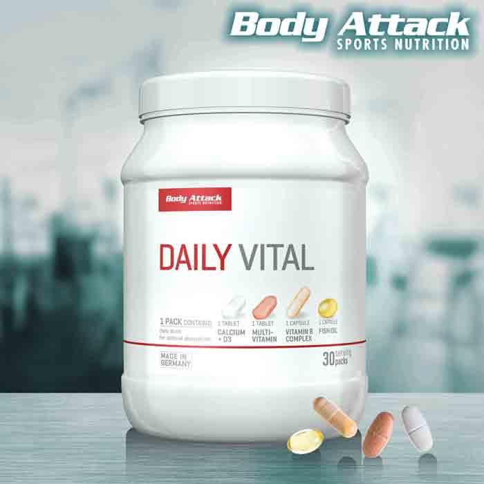 Body Attack Daily Vital