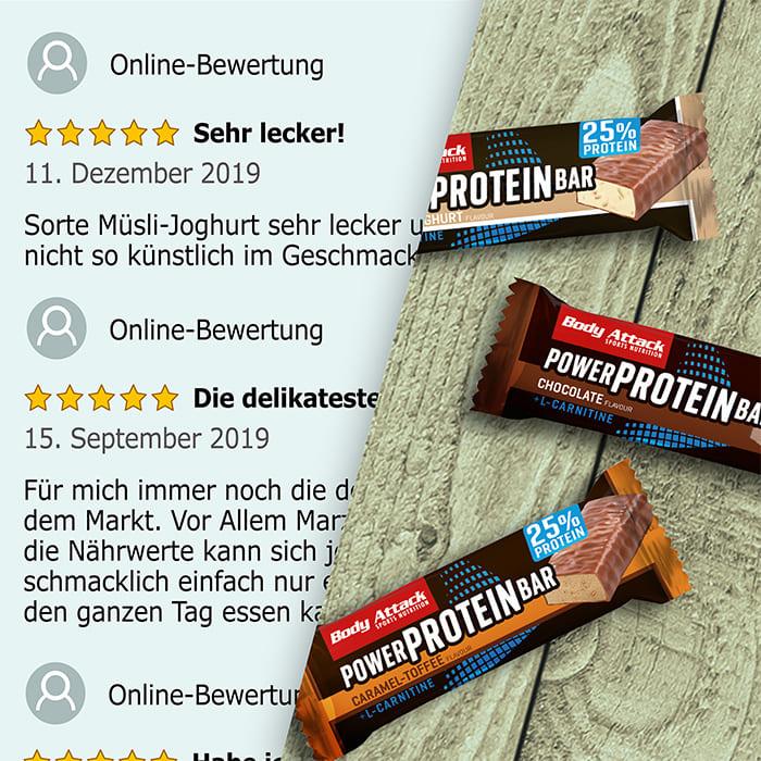 Power Bar Netzbewertungen