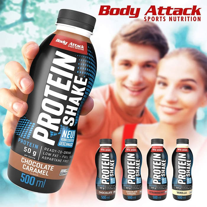 Body Attack Low-Carb* Protein Shake