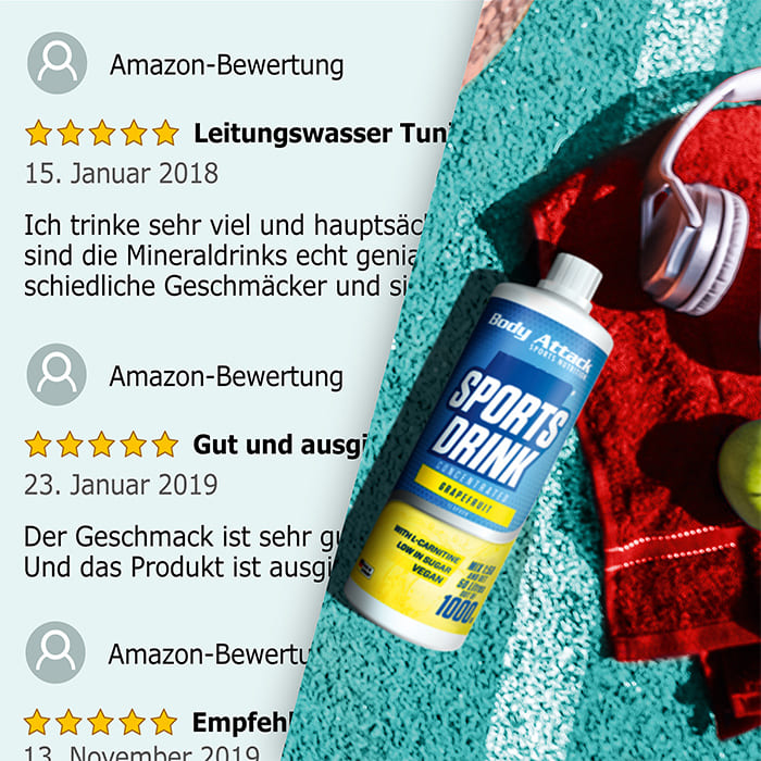 Low Carb* Sports Drink Netzbewertungen