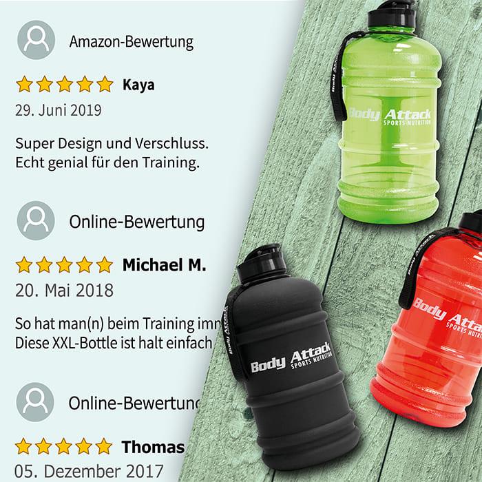 Body Attack Sports Nutrition Water Bottle XXL