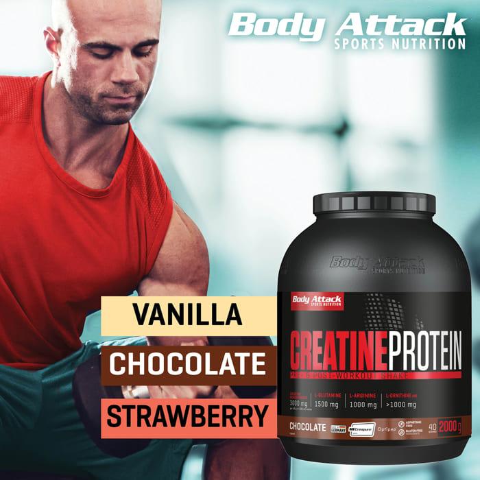 Body Attack Creatine Protein