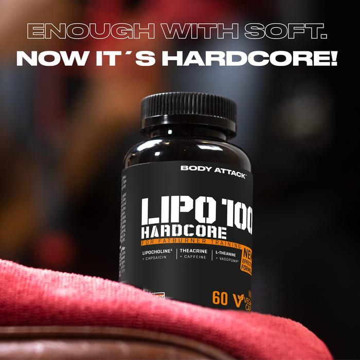 Body Attack LIPO 100-HARDCORE