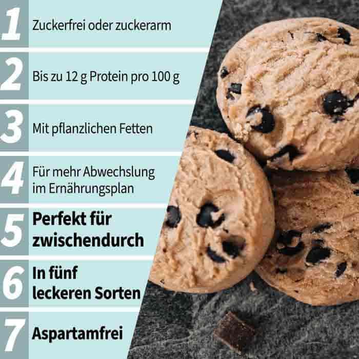 Body Attack Low Sugar Cookies