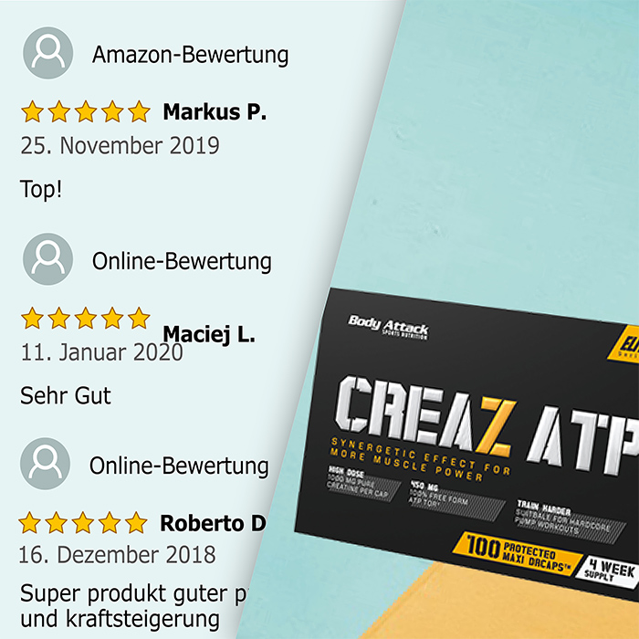 Body Attack CREAZ ATP Bewertung