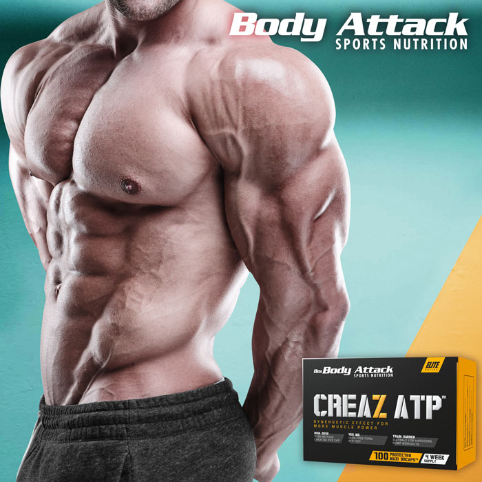 Body Attack CREAZ ATP