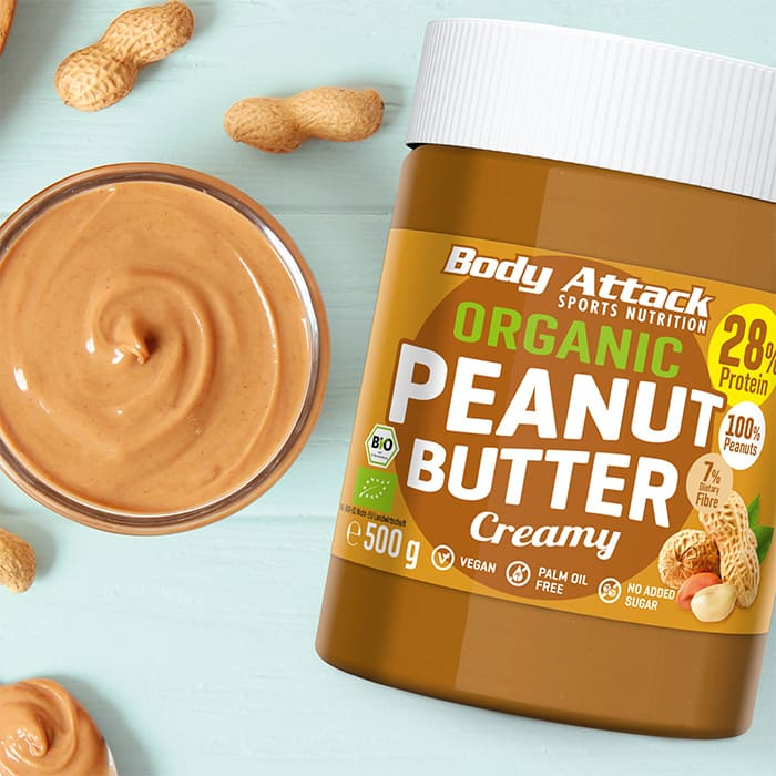 Body Attack Organic Peanut Butter