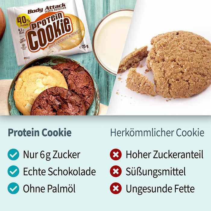 Protein Cookie im Vergleich