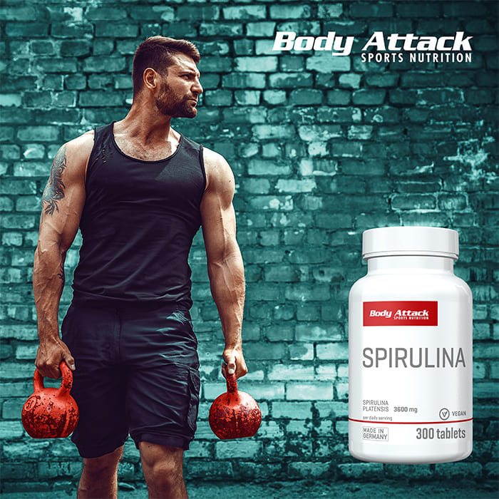 Body Attack Spirulinat Lifestyle
