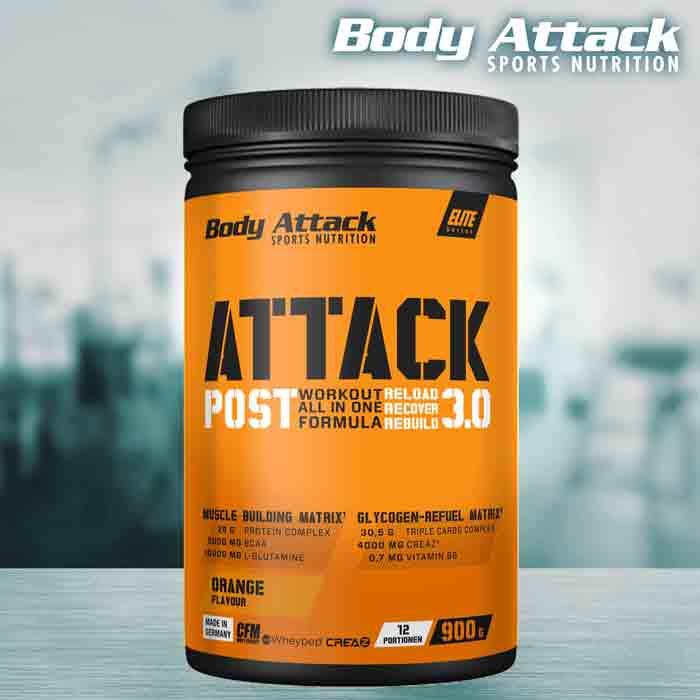 Body Attack Post Attack