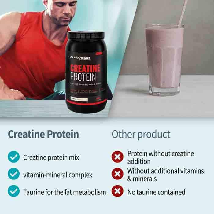 Body Attack креатин протеин