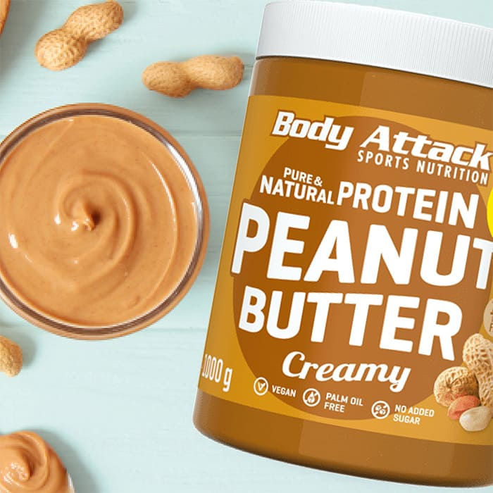 Body Attack Peanut Butter Lifestyle