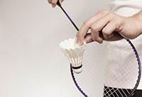 Badmintonschlagtechnik