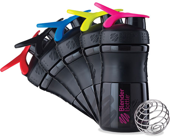 BlenderBottle Sportmixer black Farben