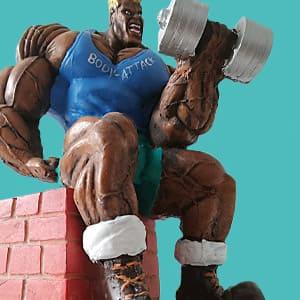 Bodybuilding Figur
