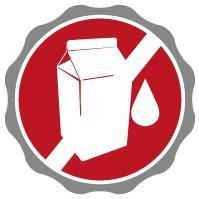 Symbol für laktosefreie Produkte