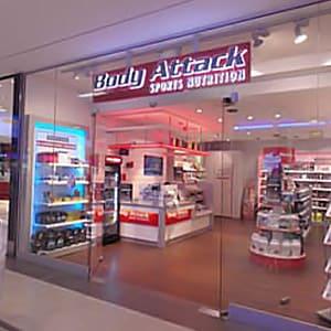 Body Attack in der Mall
