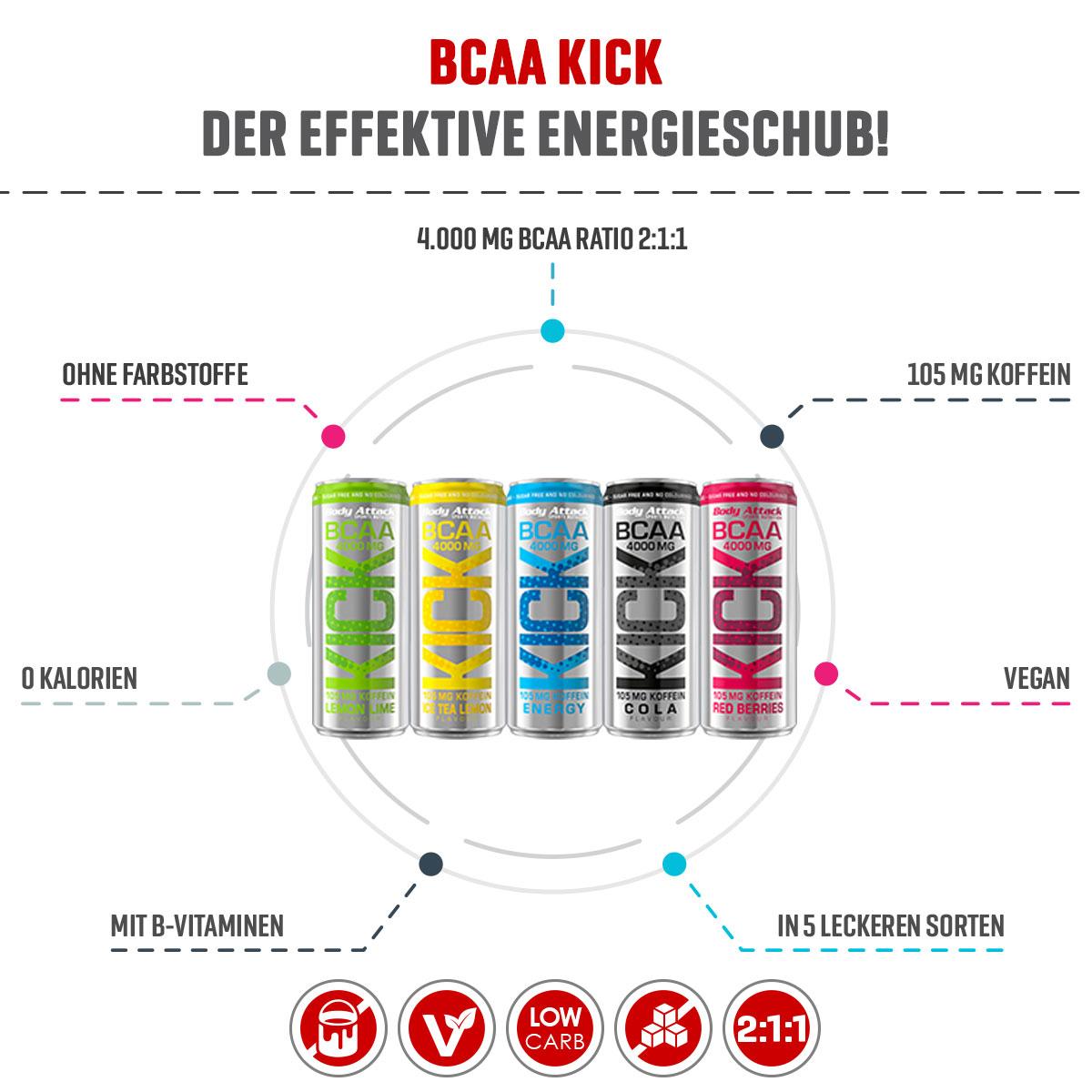 BCAA KICK Info