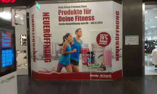 Body Attack Shop in Leipzig (Höfe am Brühl)