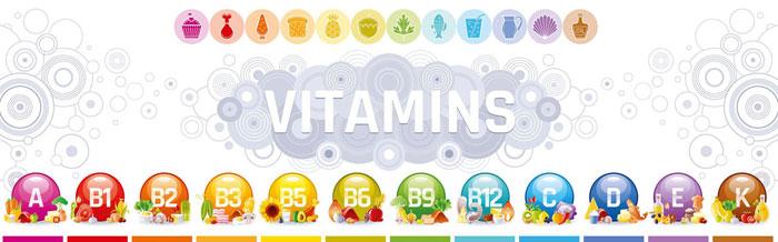 Vitamine und Mineralstoffe