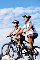 Vorteile von Radfahren