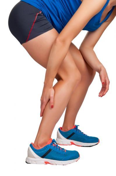 Muskelkrampf (Quelle: Shutterstock/ruigsantos)
