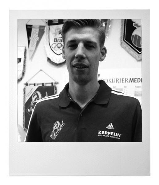 Max Günthör vom VfB Friedrichshafen
