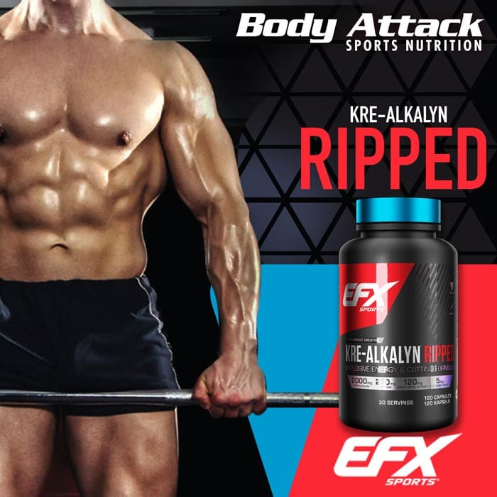 EFX Kre-Alkalyn Ripped