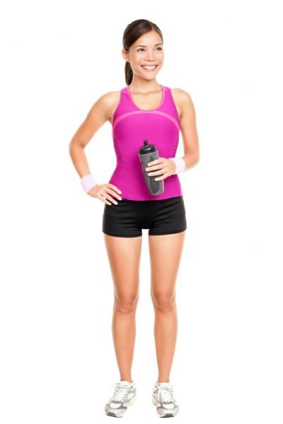 Sportlerin (Quelle: Shutterstock/Ariwasabi)