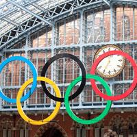Olypische Ringe - London