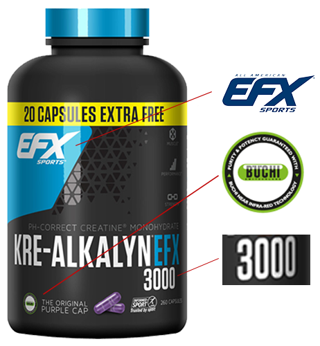 EFX Kre-Alkalyn Original - Merkmale