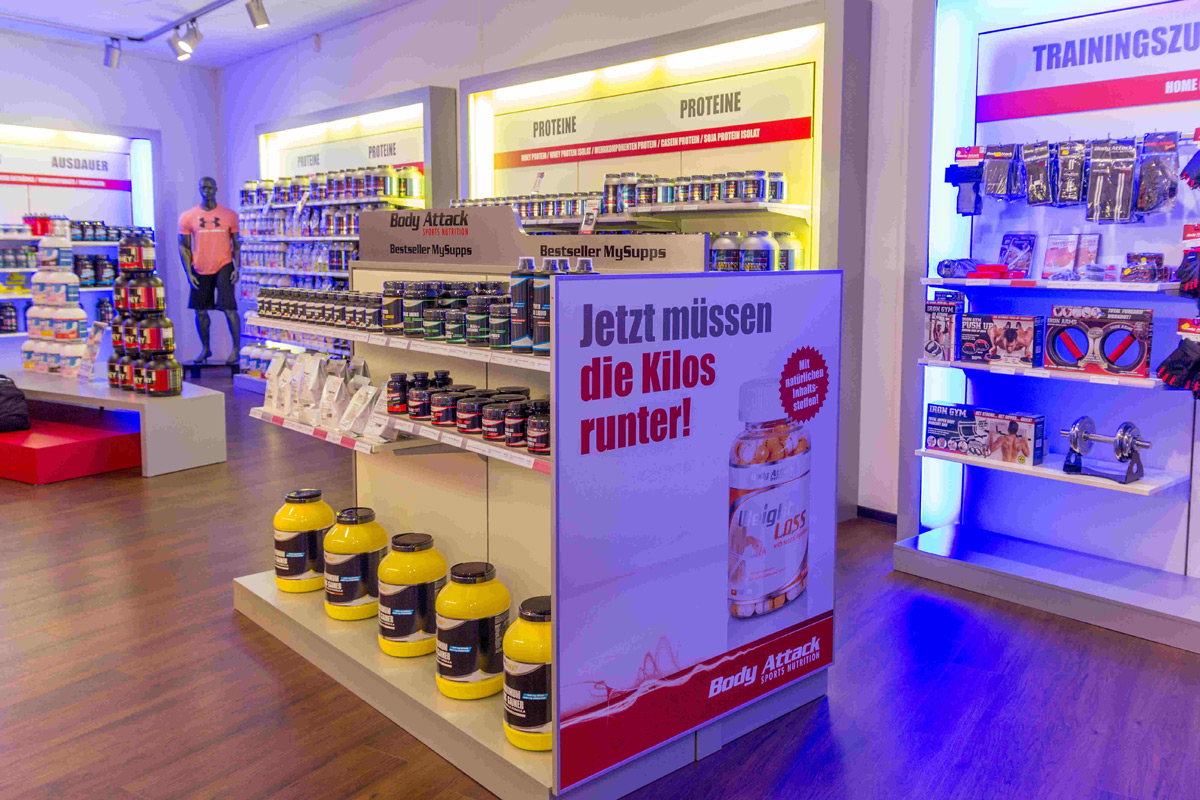 Body Attack Premium Store in Dresden