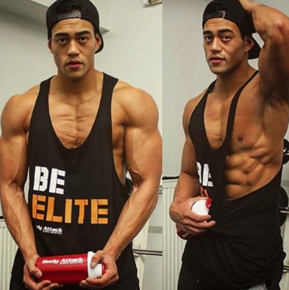 Be Elite Stringer Tank Top Men