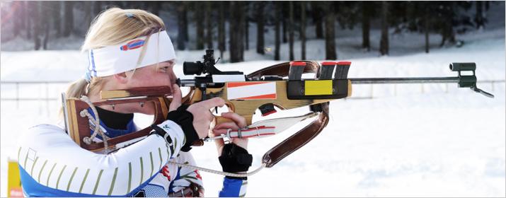 Sportart Biathlon