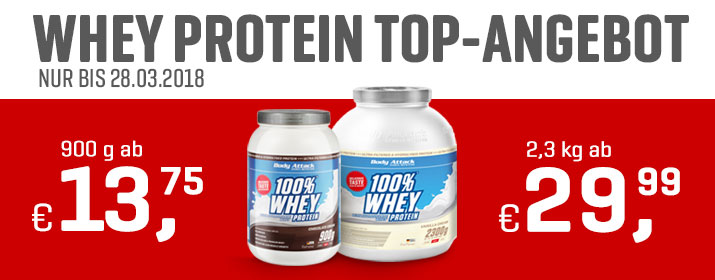 BA Kategorie 100% Whey Aktion MAR18