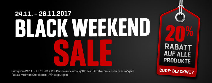 BA Kategorie BlackWeekend 2017