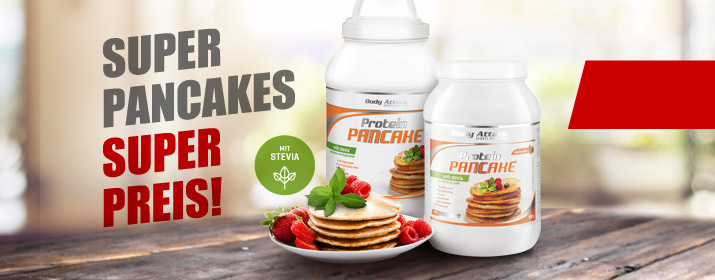 protein pancakes pfannkuchen mit eiwei body attack. Black Bedroom Furniture Sets. Home Design Ideas