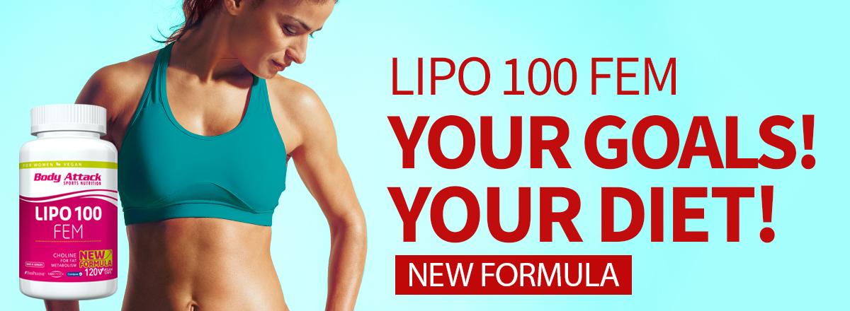 Responsive HP desk LIPO 100 FEM NEW FORMULA ENG