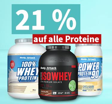 Responsive HP mobil 21% Rabatt auf Proteine