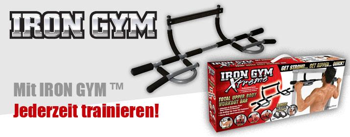 Rubrik Fitnessgeraete - Iron Gym