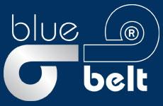 blue belt Hersteller-Logo